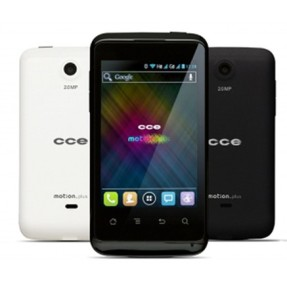 Smartphone CCE Motion Plus SK351 Câmera 2,0 MP 2 Chips Android 4.0 (Ice Cream Sandwich) 3G Wi-Fi