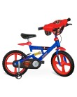 Bicicleta Bandeirante Superman Aro 14 Suspensão no quadro Superman X-Bike