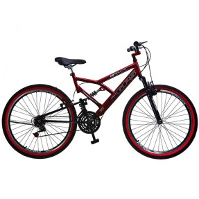 Foto Bicicleta Colli Bikes 21 Marchas Aro 26 Suspensão Full Suspension Freio V-Brake Full-S GPS 148