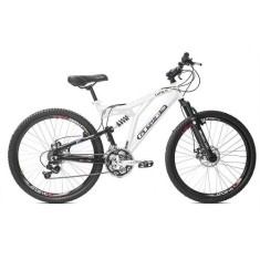 Foto Bicicleta Mountain Bike GTSM1 21 Marchas Aro 26 Suspensão Full Suspension Freio a Disco Walk Full