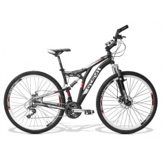 Foto Bicicleta Mountain Bike GTSM1 21 Marchas Aro 29 Suspensão Full Suspension Freio a Disco Advanced New