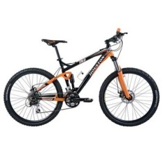 Foto Bicicleta Mountain Bike Houston 24 Marchas Aro 26 Suspensão Full Suspension Freio a Disco FR2