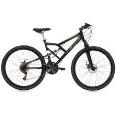 Foto Bicicleta Mountain Bike Mormaii 21 Marchas Aro 29 Suspensão Full Suspension Freio a Disco Big Rider