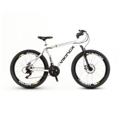 Foto Bicicleta Mountain Bike Viking 27 Marchas Aro 26 Freio a Disco X55