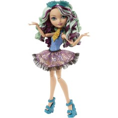 Foto Boneca Ever After High Madeline Hatter Praia Encantada Mattel