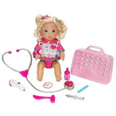 Foto Boneca Little Mommy Pequena Pediatra Mattel