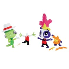 Foto Boneca Littlest Pet Shop Amigos Fashion Vinnie Terio e Penny Ling Hasbro