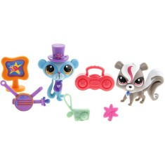 Foto Boneca Littlest Pet Shop Cenário ShowTime Friends A1351/A6268 Hasbro