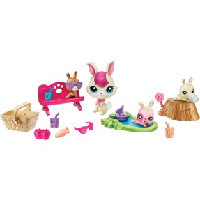 Foto Boneca Littlest Pet Shop Movimentos Mágico Bunnies Hasbro