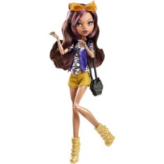 Foto Boneca Monster High Boo York Clawdeen Wolf Mattel