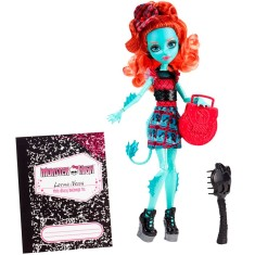 Foto Boneca Monster High Lorna McNessie Intercâmbio Monstruoso Mattel