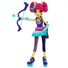Foto Boneca My Little Pony Equestria Girls Estilo Esportivo Sour Sweets Hasbro