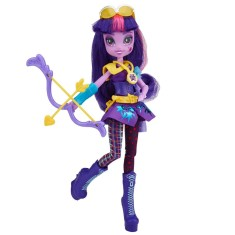 Foto Boneca My Little Pony Equestria Girls Estilo Esportivo Twilight Sparkle Hasbro