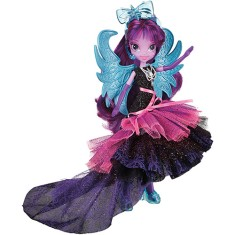 Foto Boneca My Little Pony Equestria Girls Twilight Sparkle Estilosa Hasbro