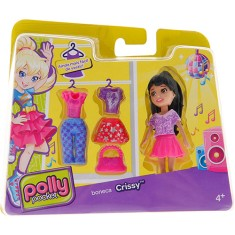 Foto Boneca Polly Super Fashion Crissy Cbw79/CGJ03 Mattel