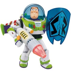 Foto Boneco Buzz Lightyear Power Blaster Interativo - Toyng