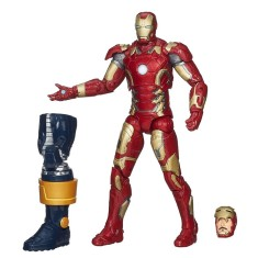Foto Boneco Iron Man Marvel Legends Infinite Series B2060 - Hasbro