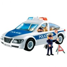 Foto Boneco Playmobil City Action Carro de Policia - Sunny
