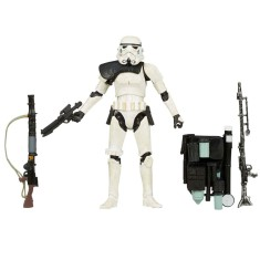 Foto Boneco Star Wars Sandtrooper The Black Series A7982/A4301 - Hasbro
