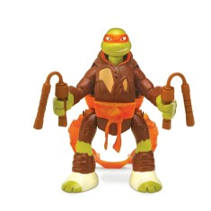 Foto Boneco Tartarugas Ninja Michelangelo Throw In Battle BR285 - Multikids