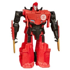 Foto Boneco Transformers Sideswipe Robots In Disguise One Step B0068 - Hasbro
