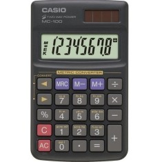 Foto Calculadora De Mesa Casio MC-100