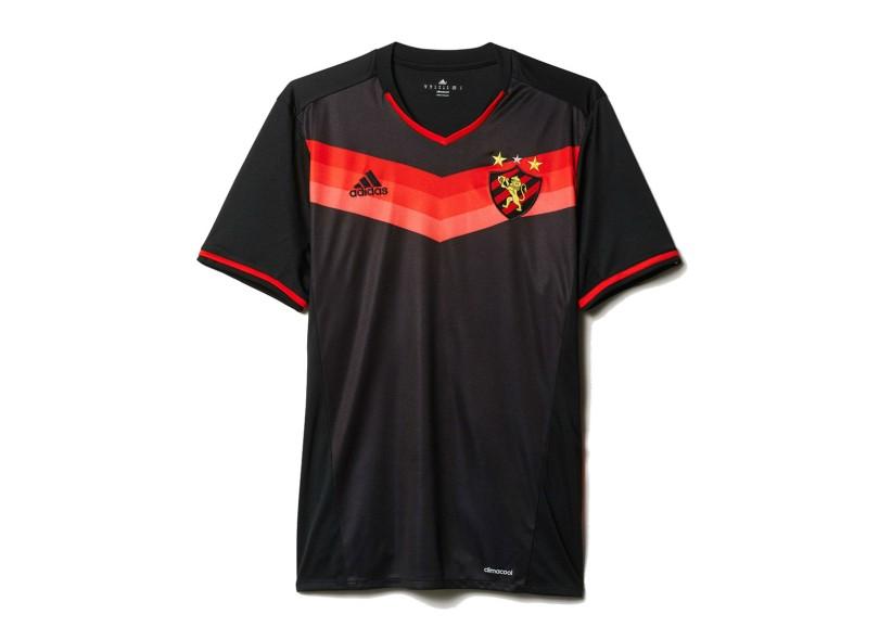 Camisa infantil Sport Recife II 2016 sem Número Torcedor Infantil Adidas  f85503b7f7828