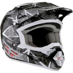 Foto Capacete Fly Racing Trophy 2 Off-Road