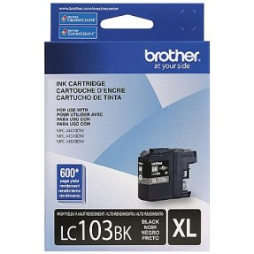 Foto Cartucho Preto Brother LC103BK