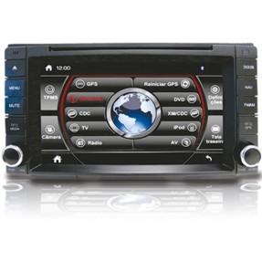 "Foto Central Multimídia Automotiva Caska 7 "" CA325A USB Viva Voz"