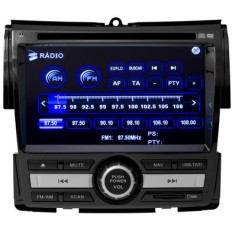"Foto Central Multimídia Automotiva H-Buster 6 "" HBO-8912HO Touchscreen Bluetooth"
