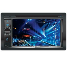 "Foto Central Multimídia Automotiva Pósitron 6 "" SP8900 NAV"
