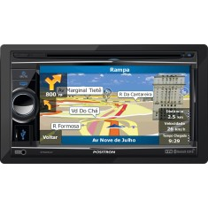 "Foto Central Multimídia Automotiva Pósitron 6 "" SP8960NAV Touchscreen Bluetooth"