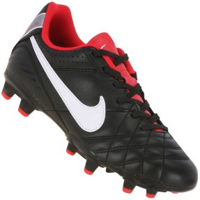 Foto Chuteira Campo Nike Tiempo Natural IV Leather Infantil