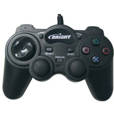 Foto Controle PS1 PS2 PC 0056 - Bright