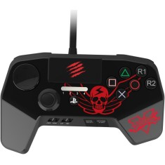 Foto Controle PS3 PS4 Fightpad Pro Street Fighter V - MadCatz