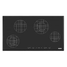 Foto Cooktop Tramontina 94719220 Design Collection Trapézio Mondri Touch 4 Bocas