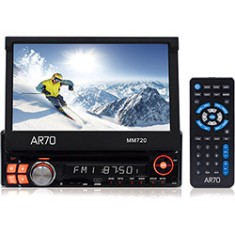 "Foto DVD Player Automotivo AR70 7 "" MM720 Touchscreen USB"