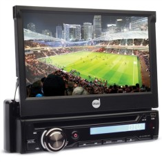 "Foto DVD Player Automotivo Dazz 7 "" 5220 Touchscreen Bluetooth"