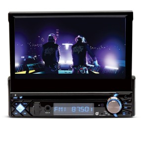 "Foto DVD Player Automotivo Dazz 7 "" DZ-65857 Touchscreen USB"