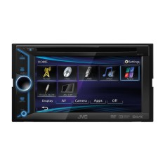 "Foto DVD Player Automotivo JVC 6 "" KW-V10 Touchscreen USB"
