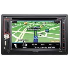 Foto DVD Player Automotivo Multilaser P3173 Touchscreen USB
