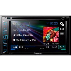 "Foto DVD Player Automotivo Pioneer 6 "" AVH-278BT Touchscreen USB"