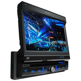 "Foto DVD Player Automotivo Pósitron 7 "" SP6300AV Touchscreen Entrada para camêra de ré"