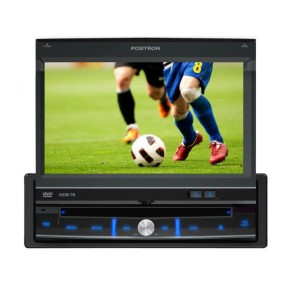 "Foto DVD Player Automotivo Pósitron 7 "" SP6700 AV Touchscreen Entrada para camêra de ré"