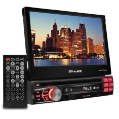 "Foto DVD Player Automotivo Shutt 7 "" Detroit Bluetooth USB"