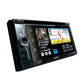 Foto DVD Player Automotivo Sony XAV-W601BT Touchscreen USB Entrada para camêra de ré