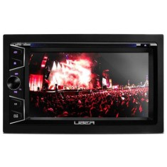 "Foto DVD Player Automotivo Uber 6 "" UB-31DD Touchscreen Bluetooth"