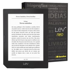 "Foto E-Book Reader 8 GB 6 "" Lev Neo - Saraiva"