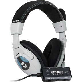 Foto Headphone Turtle Beach com Microfone Call of Duty Ghosts Ear Force Shadow
